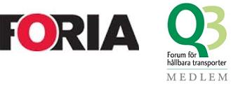 FORIA AB logo