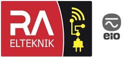 RA Elteknik AB logo