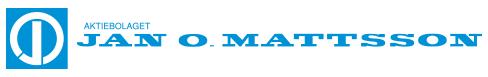 Aktiebolaget Jan O Mattsson logo