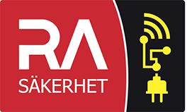 RA Säkerhet AB logo