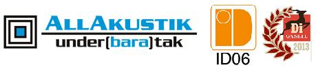 Allakustik Underbara Tak GBG AB logo