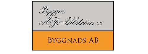 Byggmästare Anders J Ahlström Byggnads AB logo