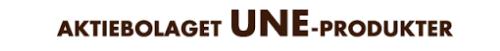 Aktiebolaget Une-Produkter logo