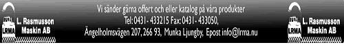 L Rasmusson Maskin Aktiebolag logo
