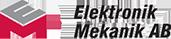 Elektronik Mekanik i Västerås Aktiebolag logo