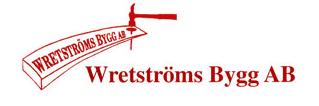 Wretströms Bygg Aktiebolag logo