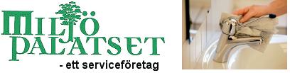 Miljöpalatset AB logo