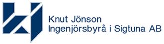 Knut Jönson Ingenjörsbyrå i Sigtuna Aktiebolag logo
