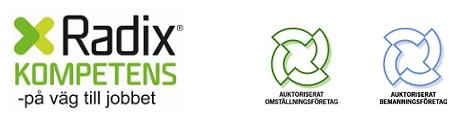 Radix Kompetens AB logo