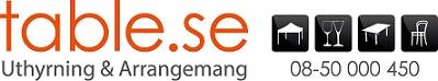 Table Uthyrning & Arrangemang i Stockholm AB logo