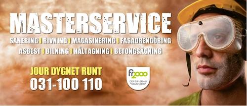Masterservice Riv & Sanering i Göteborg AB logo