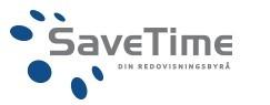 SaveTime Ekonomikonsult AB logo