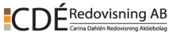 C Dé Redovisning Aktiebolag logo