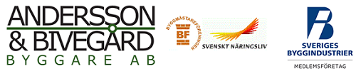 Andersson & Bivegård Byggare Aktiebolag logo