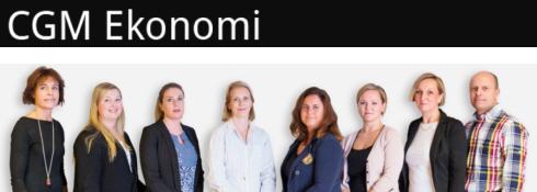CGM Ekonomi AB logo