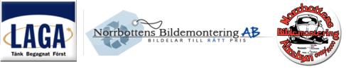 Norrbottens Bildemontering Aktiebolag logo