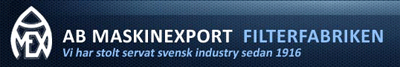 Aktiebolaget Maskinexport logo