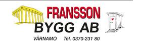 Fransson Bygg i Värnamo Aktiebolag logo