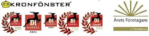 Kronfönster AB logo
