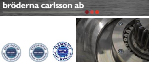 Bröderna Carlsson i Motala AB logo