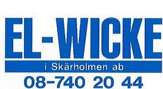 El-Wicke i Skärholmen Aktiebolag logo