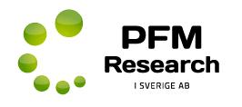 PFM Research i Sverige AB logo