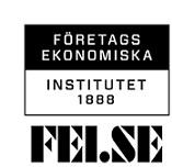 Företagsekonomiska Institutet 1888 Aktiebolag logo