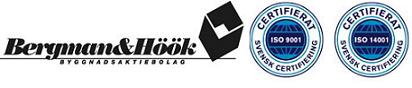 Bergman & Höök Byggnads AB logo