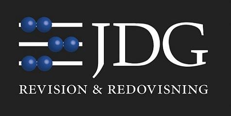 JDG Revision AB logo