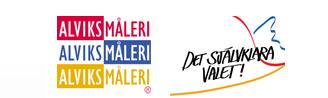 Alviks Måleri i Uppsala AB logo