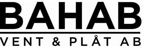 Bahab vent & plåt AB logo