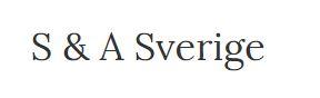 S & A Sverige AB logo