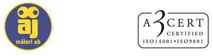 ÅJ Måleri AB logo