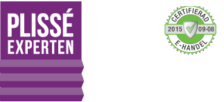 Plisséexperten Sverige AB logo