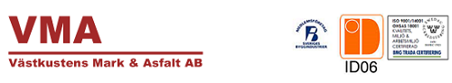 Västkustens Mark & Asfalt AB logo