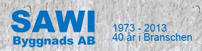Sawi Byggnads Aktiebolag logo