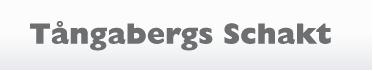 Tångabergs Schakt Aktiebolag logo