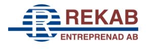 Rekab Entreprenad AB logo