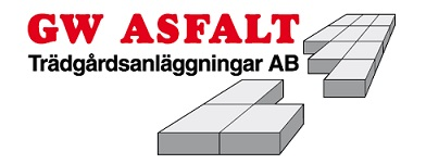 GW ASFALT & TRÄDGÅRDSANLÄGGNINGAR Aktiebolag logo