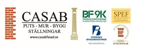 CASAB Fasad & Bygg AB logo