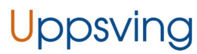Uppsving Sverige AB logo