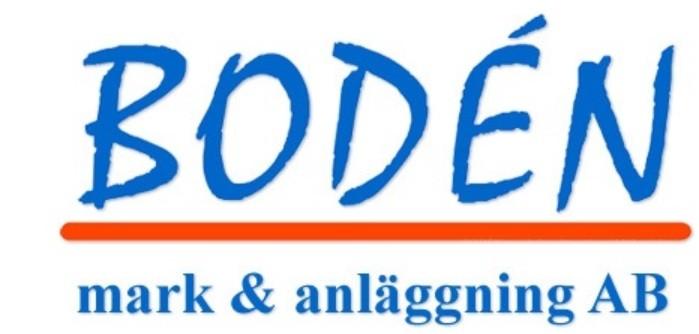 Bodén Mark & Anläggning i Mälardalen AB logo
