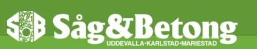 Såg- & Betongborrning i Uddevalla Aktiebolag logo