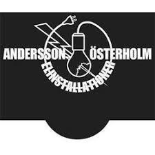 Andersson & Österholm Elinstallationer            Handelsbolag logo