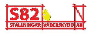 S82 Ställningar och Väderskydd AB logo