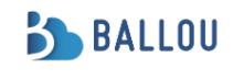 Ballou Internet Services AB logo