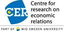 CER Centre for research on economic relations Part of Mid Sweden University